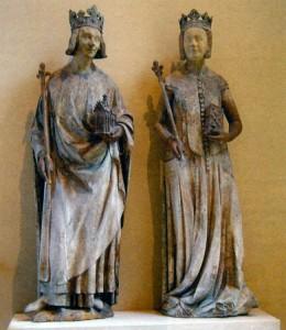 Карл V и его жена Жанна Бурбонская