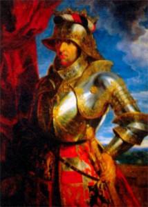 Максимилиан I в рыцарских доспехах. Художник П.-П. Рубенс. 1648 г. годы