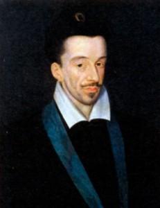 Генрих III (1551-1589), король Франции с 1574 г.