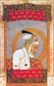 Аурангзеб в преклонные годы. Миниатюра ок. 1700 г.