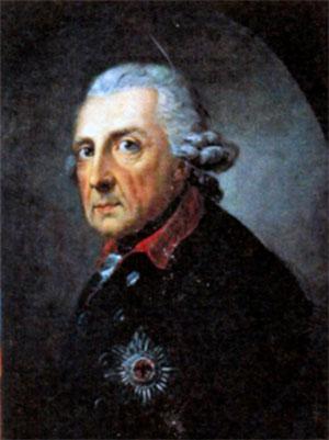 Фридрих II Великий (1712-1786), король Пруссии с 1740 г. Художник А. Графф. 1781 г.