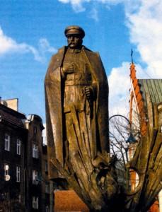 Памятник маршалу Пилсудскому в Кракове