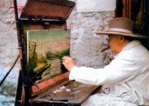 Черчилль-живописец