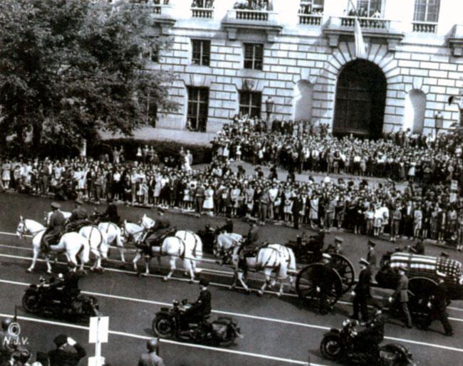 Похороны Франклина Рузвельта. 14 апреля 1945 г.