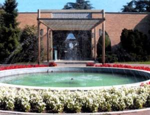 Основной вход в мавзолей Тито «Дом цветов»