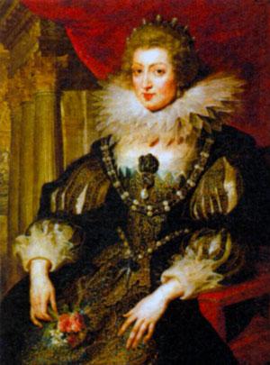 Анна Австрийская (1601-1666). Художник П.-П. Рубенс. 1621-1625 гг.