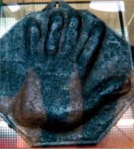 Слепок руки Петра Великого
