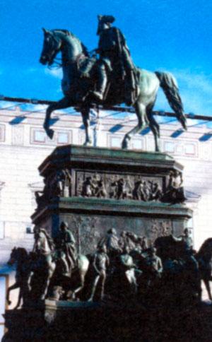 Памятник Фридриху Великому в Берлине