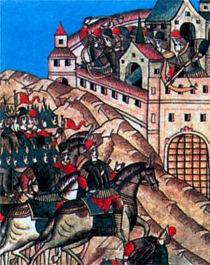 Осада Москвы Тахтамышем в 1382 г.