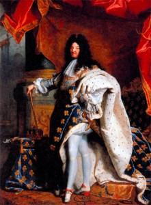 Людовик XIV. Художник Г. Риго. 1701 г.