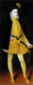 Дон Карлос (1545 - 1568) Художник А. -С. Коэльо